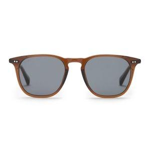 Diff- Maxwell Whiskey w/ Grey Polarized Sunglasses
